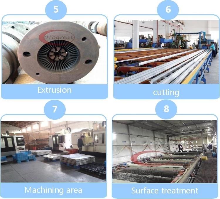 Hot sale & high quality aluminium extrusion sections heatsink enclosure