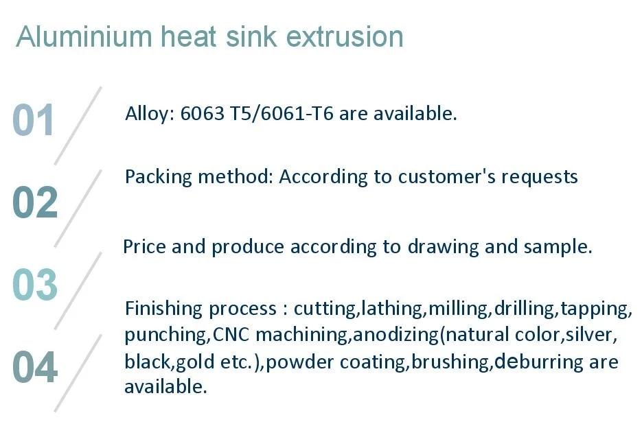 Best selling led round aluminum heat sink