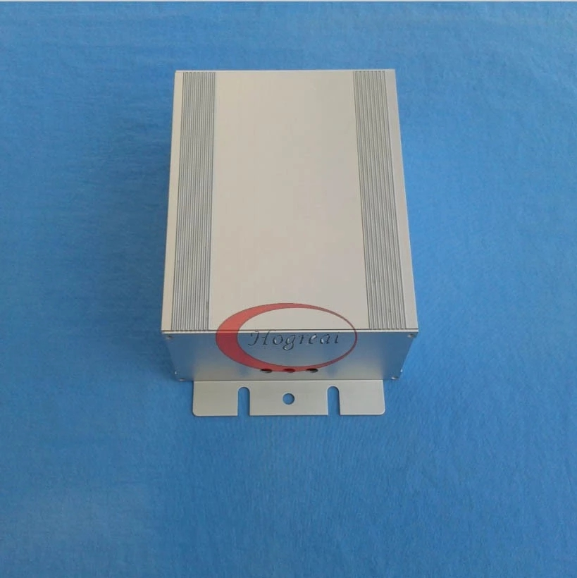 Aluminum extrusion heat sink enclosure with high quality
