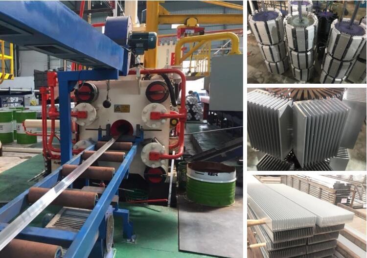 Factory customized extrusion aluminum 150w led modular heatsink