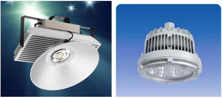 Extrusion aluminium high power 500w led heat sink