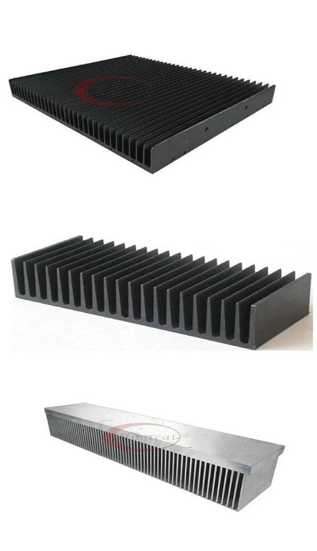 Aluminium Extruded car radiator/led strip aluminium heat sink