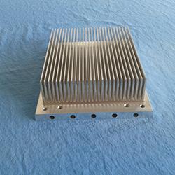 New Design flat fin radiator OEM