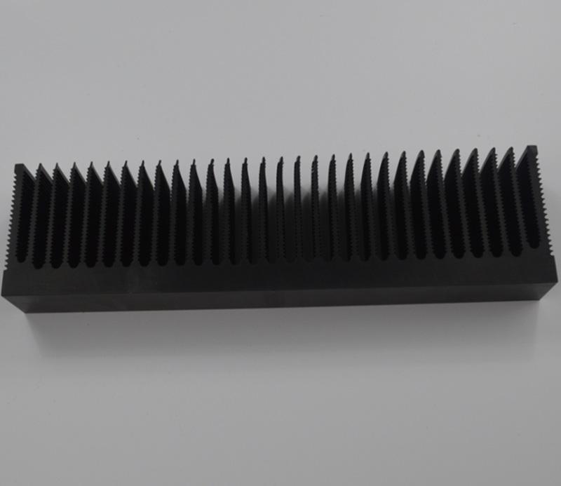 Factory customized extrusion 100mm aluminum heat sink
