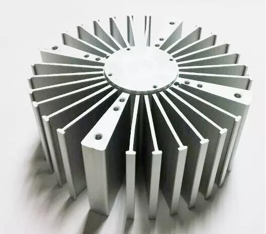 6000 series heatsink extrusion led light bar aluminium heat sink