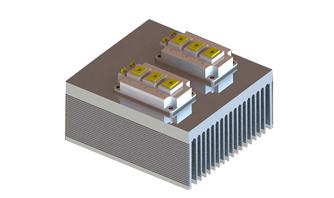 How to eliminate the impurity problem of aluminum profile heat sink?