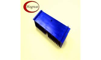 Custom Aluminum Extrusion Large Heatsink