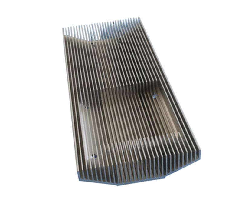 Extrusion aluminum car amplifier heat sink