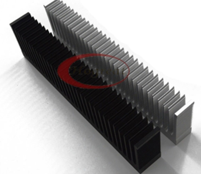Attractive design aluminum extruded heat sink with low price