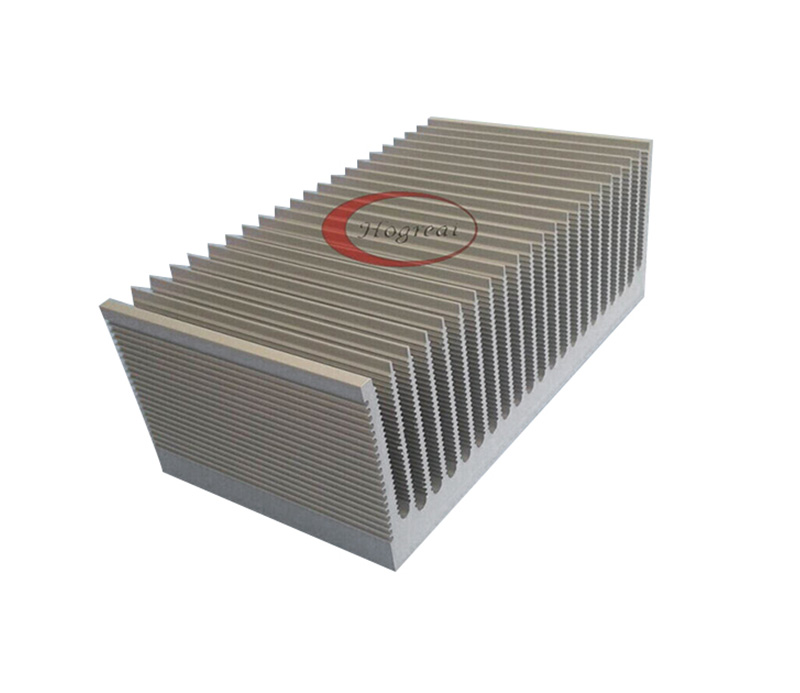 Most popular aluminum alloy heat sink with competitive price