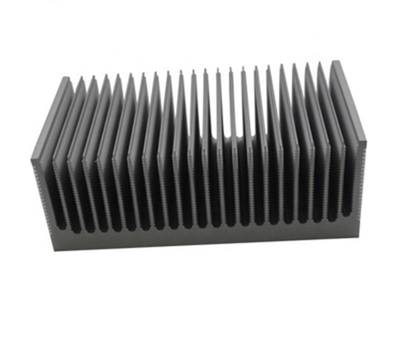 Factory customized large extrusion profile aluminum heat sink