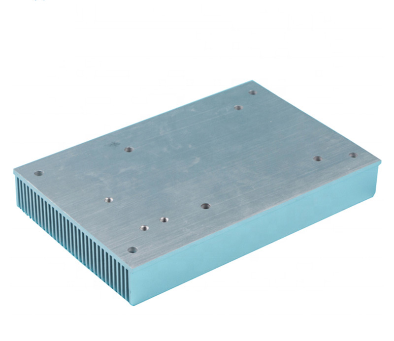 Factory customized extruded aluminium water cooling heatsink