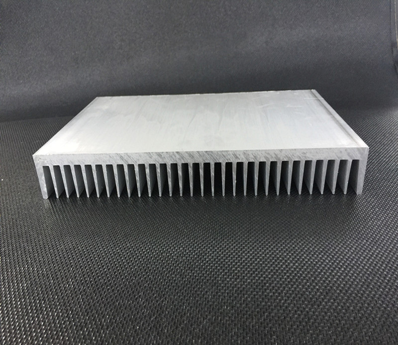 Heat sink range from 20mm to 1000mm wide,5mm to 200mm high, CNC machining