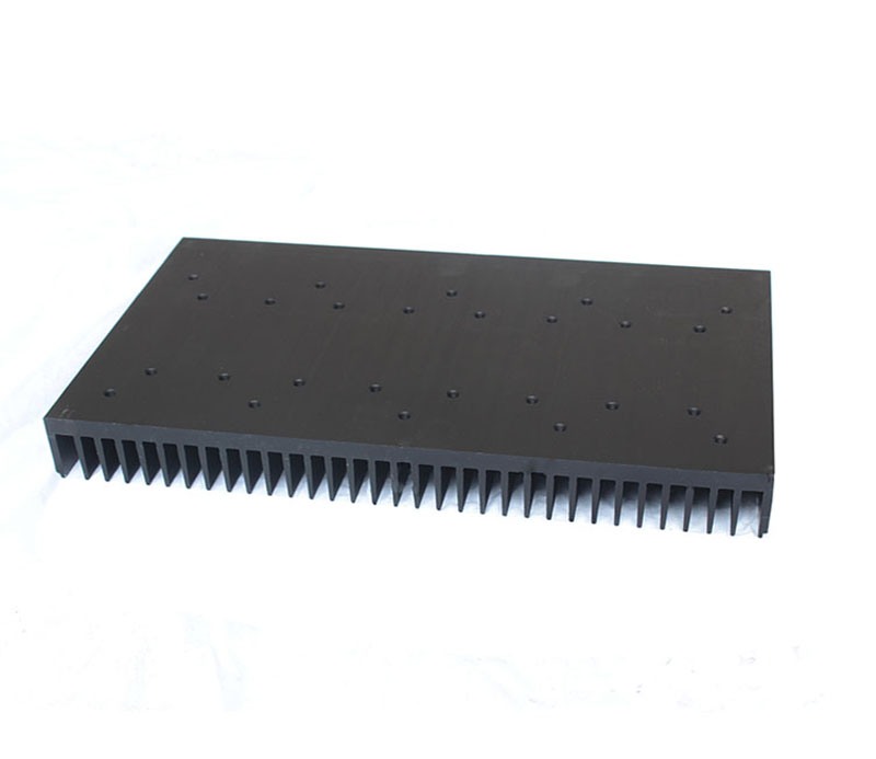 300x40mmHigh Power Aluminum Extrusions Heat Sink