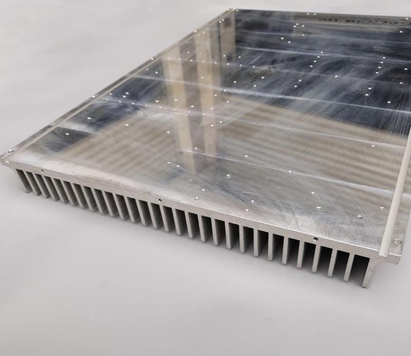 Extrusion profile heat sink aluminum for the caravan window